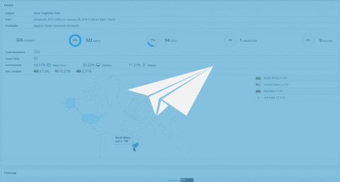 Newsletter Templates – GeoMetric with Advanced Statistics
